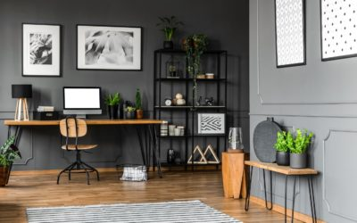 Home Office Design Ideas Using Reclaimed Wood