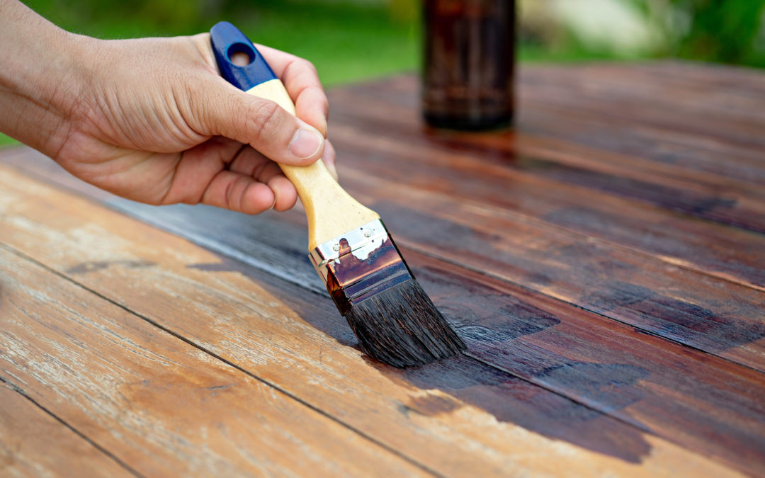Make Your Wood Look Reclaimed With Paint